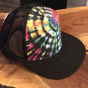 fd140a6f17878 Empyre. Empyrean Black Tie-Dye Snap Back Trucker Cap